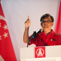 Tan Jee Say's rally speech and the things of SDP