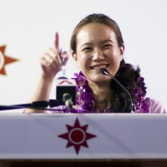 Quick thoughts on Nicole Seah's rally speech